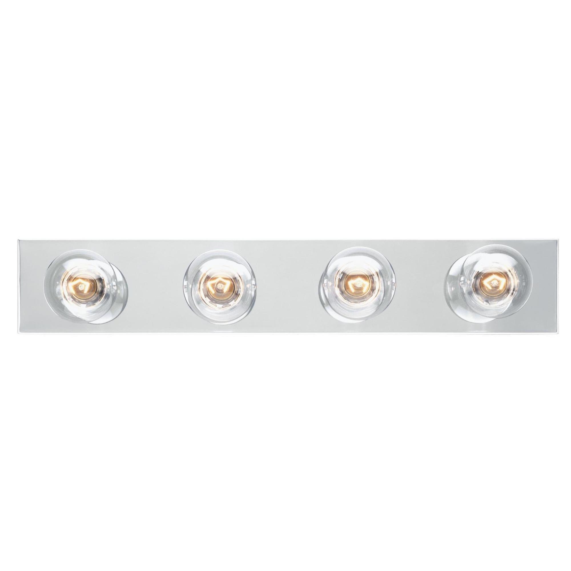 Westinghouse 6641100 Four-Light Bath Bar by Angelo Bros Company