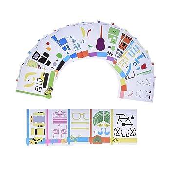 Papel de dibujo para impresora 3D para niños, 20 unidades: Amazon ...