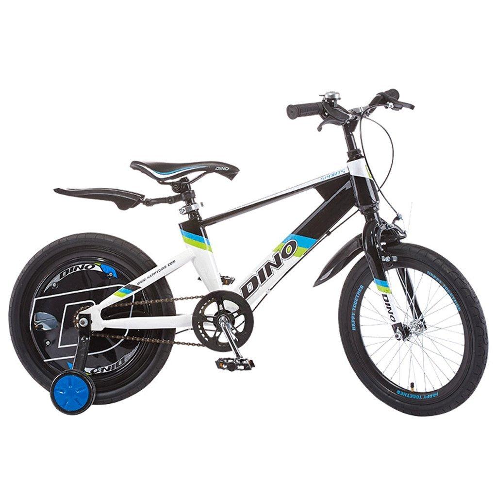 子供の自転車6-13歳の赤ちゃんのバイクのベビーカーの少女18インチの子供のマウンテンバイク (色 : 白) B07D9XM1WN 白 白
