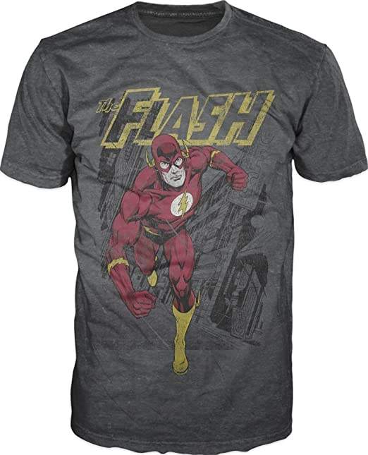 Bioworld Flash Men's Running Adult T Shirt by Bioworld