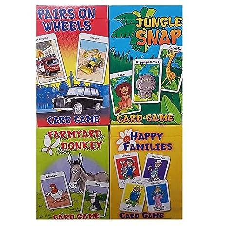 Varios juegos de juego de cartas de los niños (1 ...