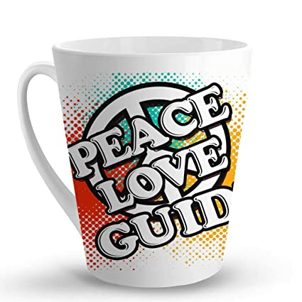 com makoroni peace love guide oz unique latte mug