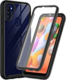 ONOLA Designed for Galaxy A11 Case,Three Defense Built-in Screen Protector Crystal Clear Full Body Fit Cover for Samsung…