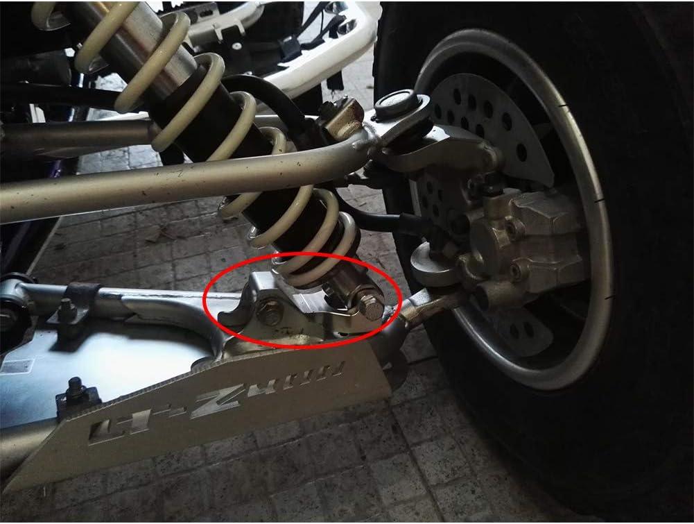 Blaster Guerrero ATV vorne Aluminium silber Wate-Kit f/ür Yamaha Raptor 350/Raptor660
