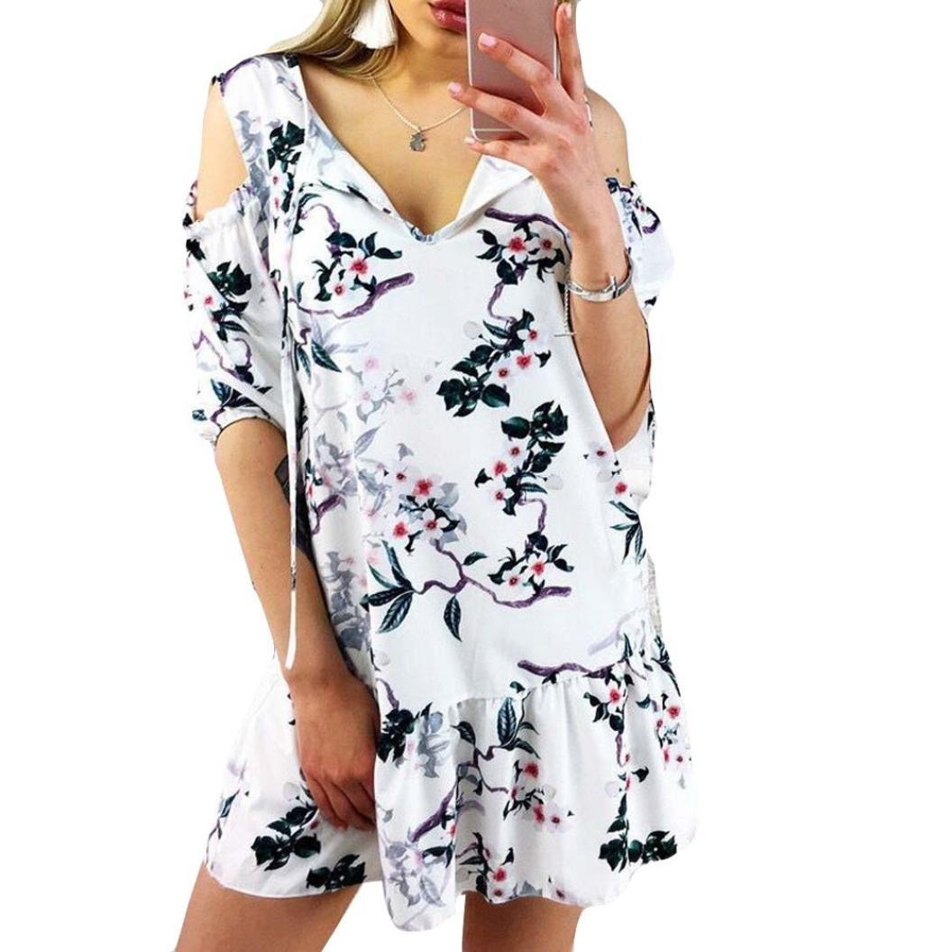 Keepwin Maxi Vestido De Mujer CóCtel De Las Mujeres De Boho Del Partido De Noche Del Vestido Del Verano De La Playa