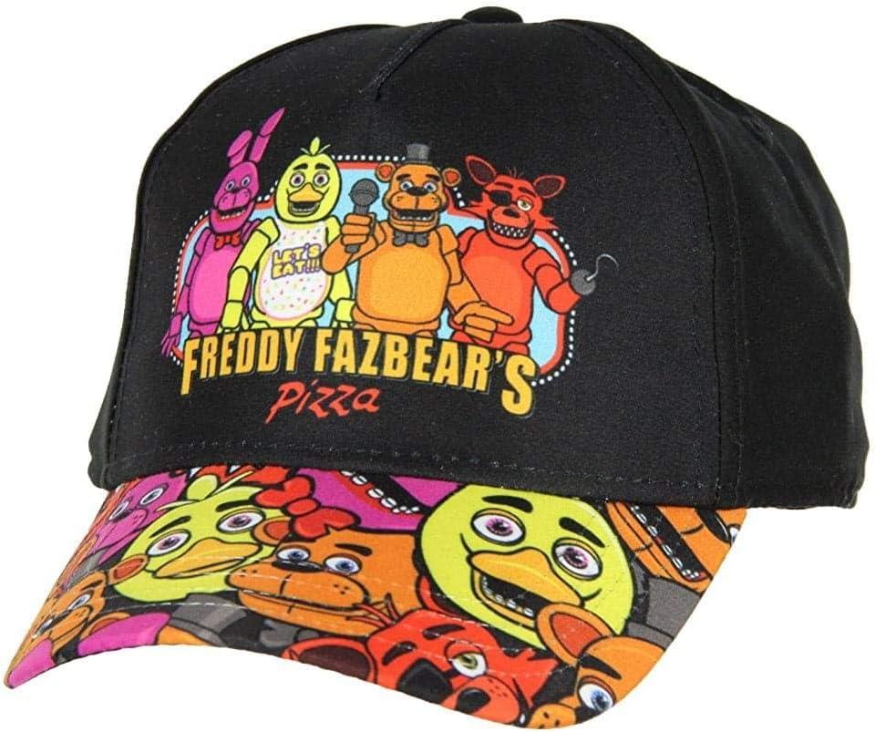 New Five Nights At Freddy/'s Freddy Fazbear's Pizza Snapback Cap Hat