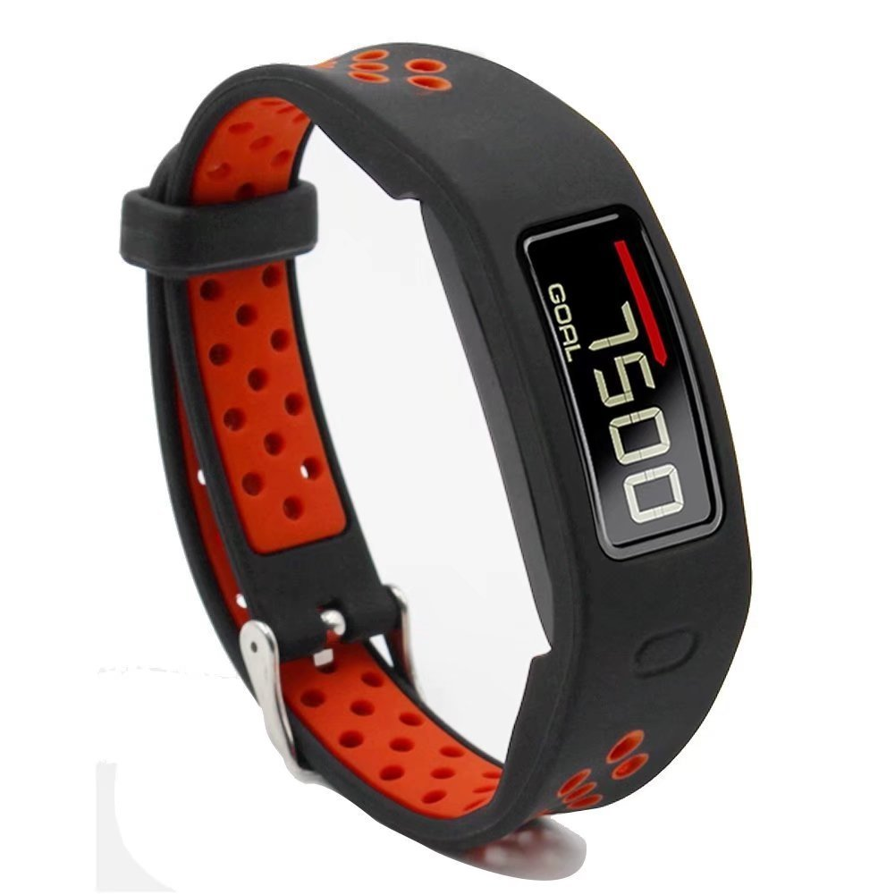T-BLUER Replacement Wristband With Metal Buckle Strap Bands For Garmin Vivofit 3 and Vivofit JR with Clasps Fitness Bracelet Suitable to All Sizes No Tracker