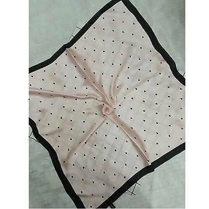 Amazon.com: Bingo Point Women Square Imitation Silk Scarf ...
