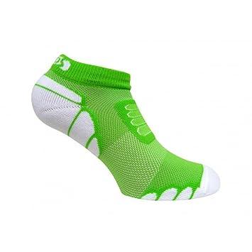 Eurosocks Marathon corte bajo calcetines de Running, banda elástica de arco pies apoyo, Escudos