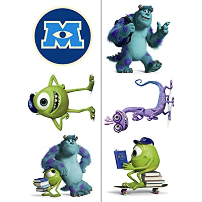Monsters University Temporary Tattoos (2 Sheets): Toys & Games