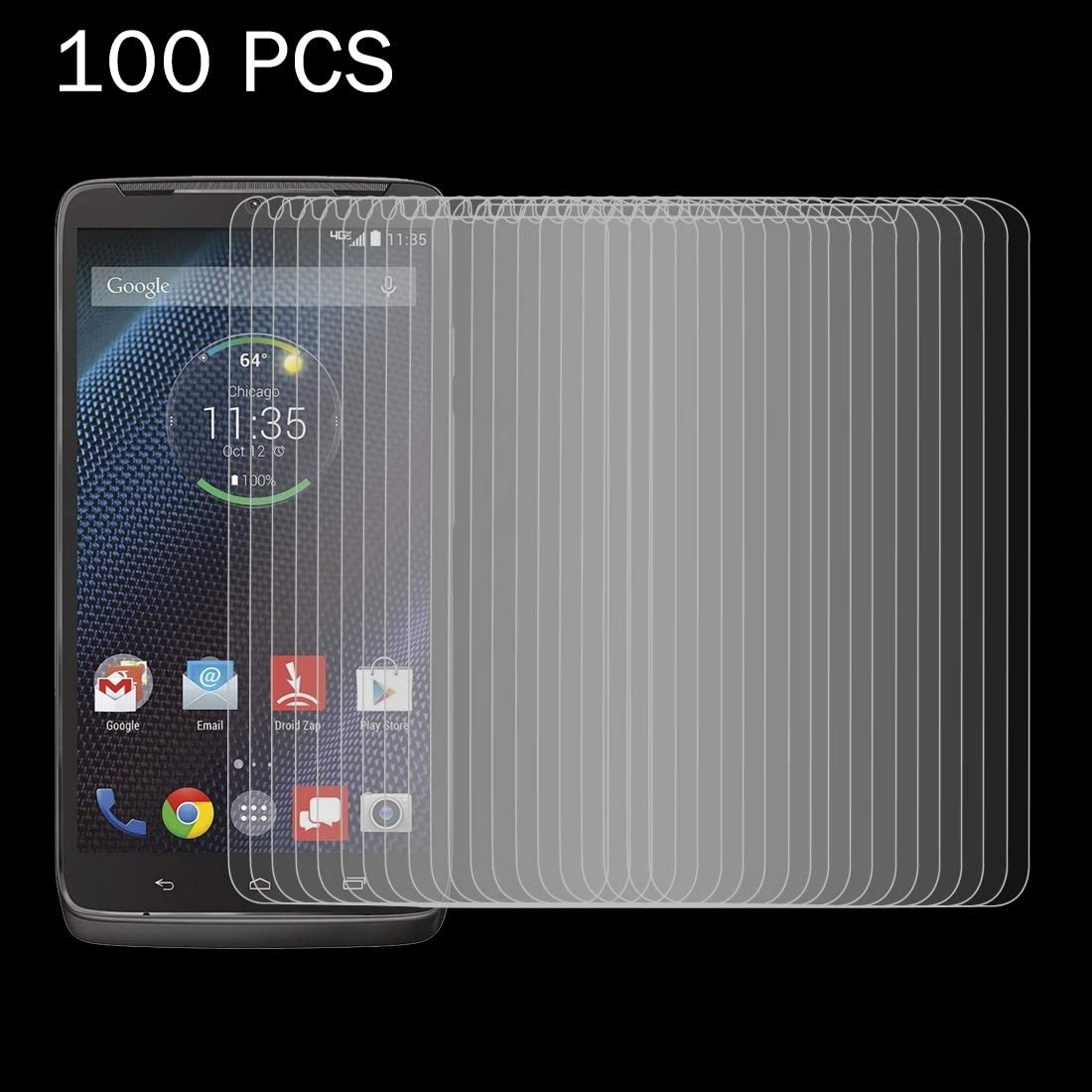 100 PCS for Motorola Droid Turbo YINZHI Screen Protector Film XT1254 0.26mm 9H Surface Hardness 2.5D Explosion-Proof Tempered Glass Screen Film Clear
