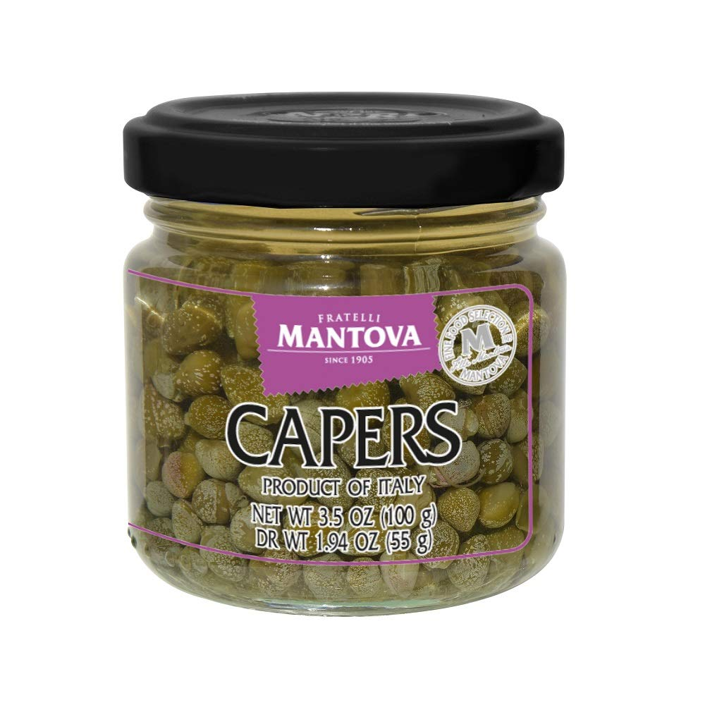 Mantova Capers In Brine 3.5 Oz. (Pack Of 3)