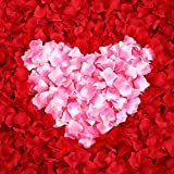 Ocharzy 1000pcs Silk Rose Petals Wedding Flower Decoration,Mint Green