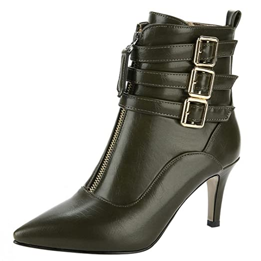 Women's Ball Boots With Zipper
