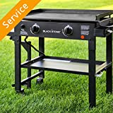 Flat Top Griddle Grill Assembly - 4-5 Burner