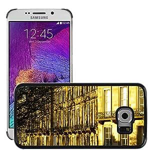 Hot Style Cell Phone PC Hard Case Cover // M00171334 Scotland Edinburgh Facades City // Samsung Galaxy S6 EDGE (Not Fits S6)