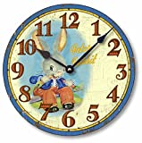 Item C5022 Vintage Style 10.5 Inch Peter Rabbit Children's Clock Review