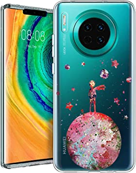 Yoedge Funda Huawei Mate 30 Pro, Cárcasa Silicona Transparente con ...