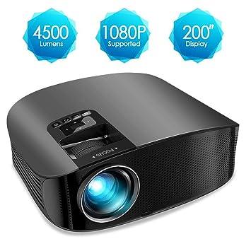 AWLLY Mini Proyector 4500 Lúmenes Proyección De Video 200