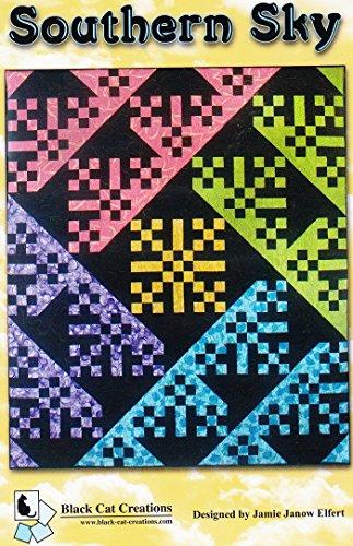Southern Sky Quilt Pattern by Jamie Janow Elfert Black Cat Creations 66