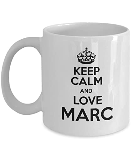 amazon com holiday bulk personalized mugs keep calm and love marc