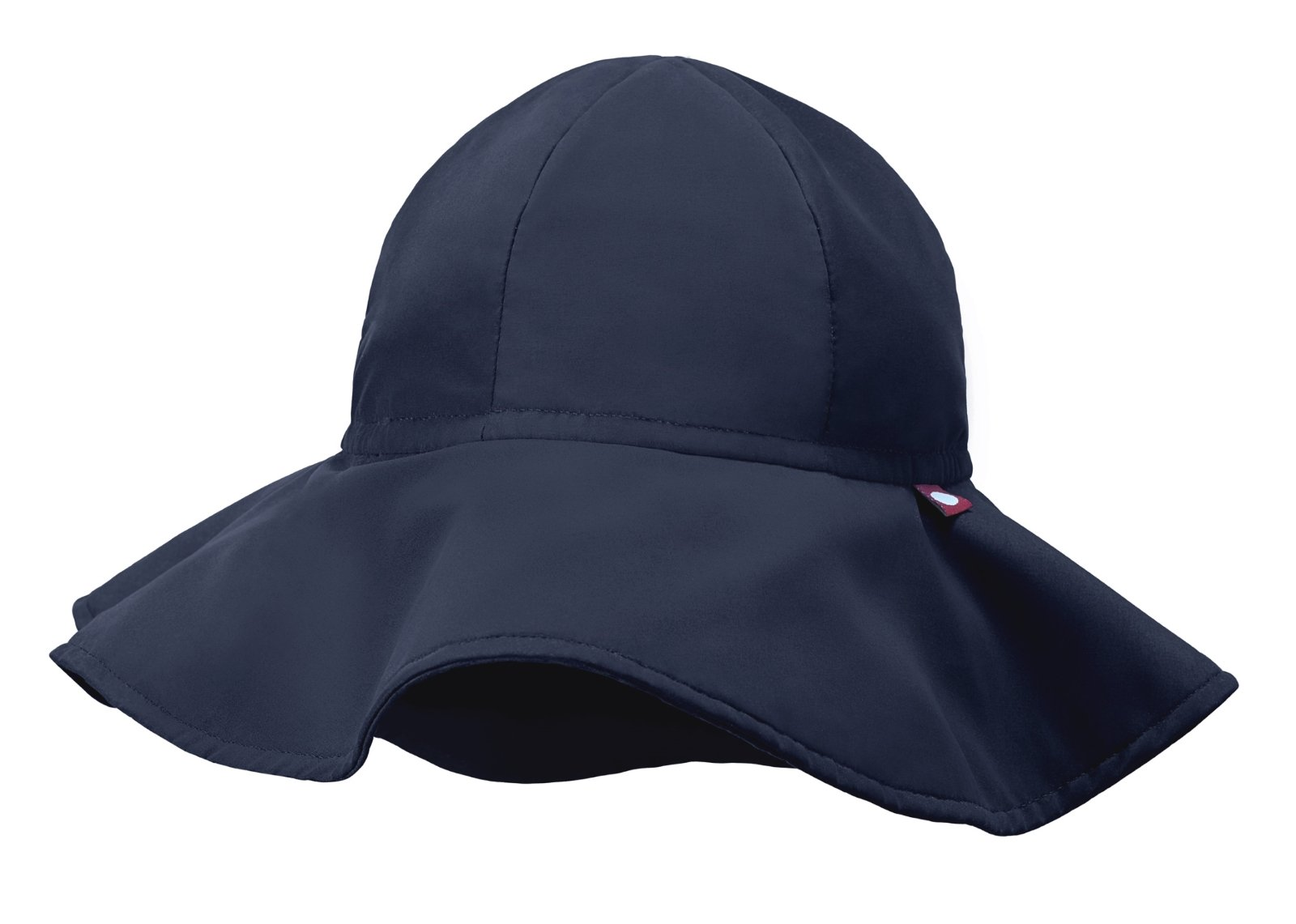 City Threads Swimmig Hat for Boys and Girls, Swim Hat Bucket Floppy Hat with SPF Sun Protection SPF for Beach Summer Pool, Navy, XXL