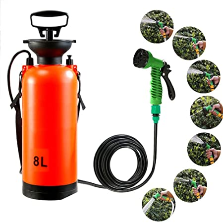 FCS Garden Pulverizador a presión Jardin con Bomba para Plantas 8L pulverizadores de presion pulverizadores de Agua: Amazon.es: Hogar