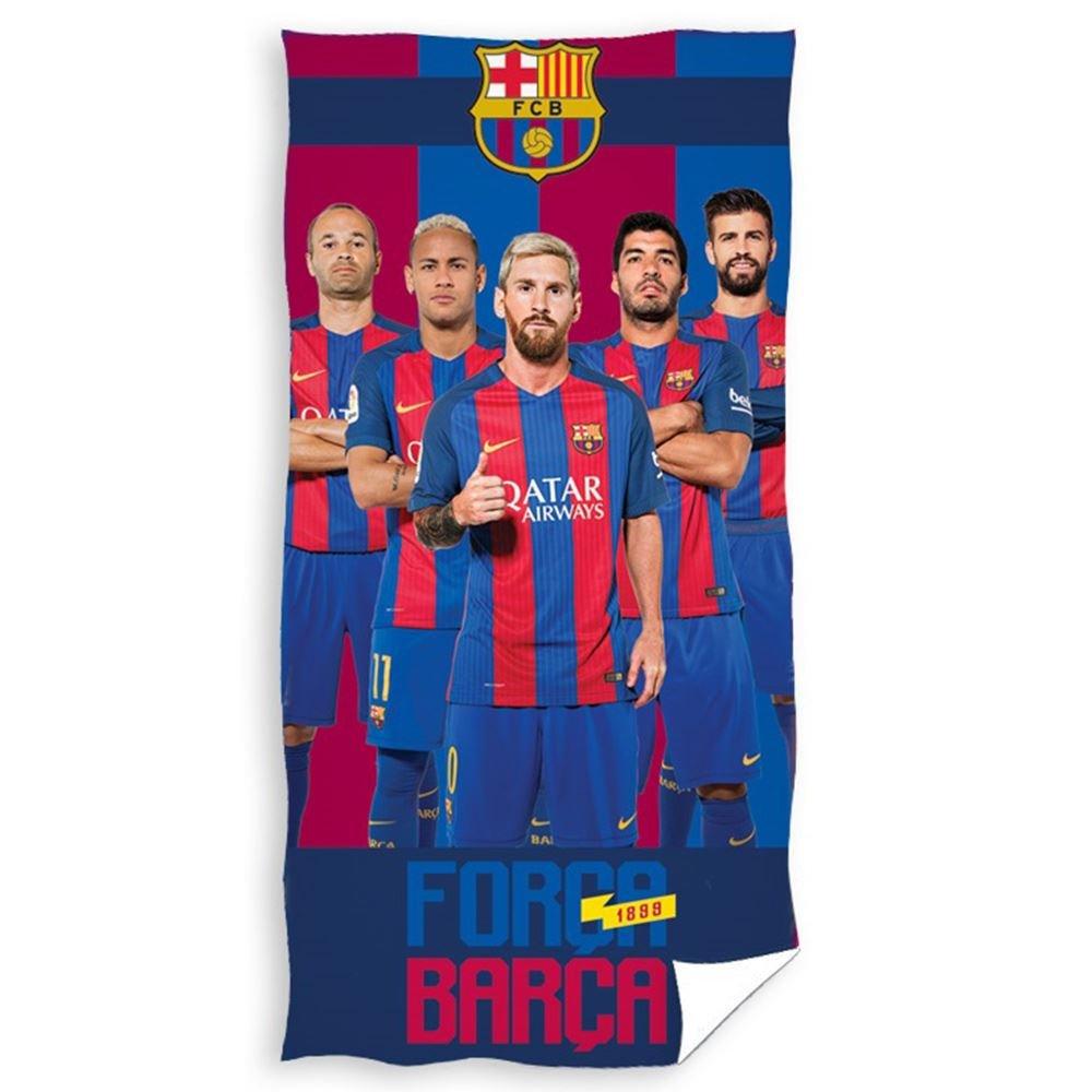FCB FC Barcelona Toalla de baño, algodón, 26 x 38 x 4 cm: Amazon.es: Hogar