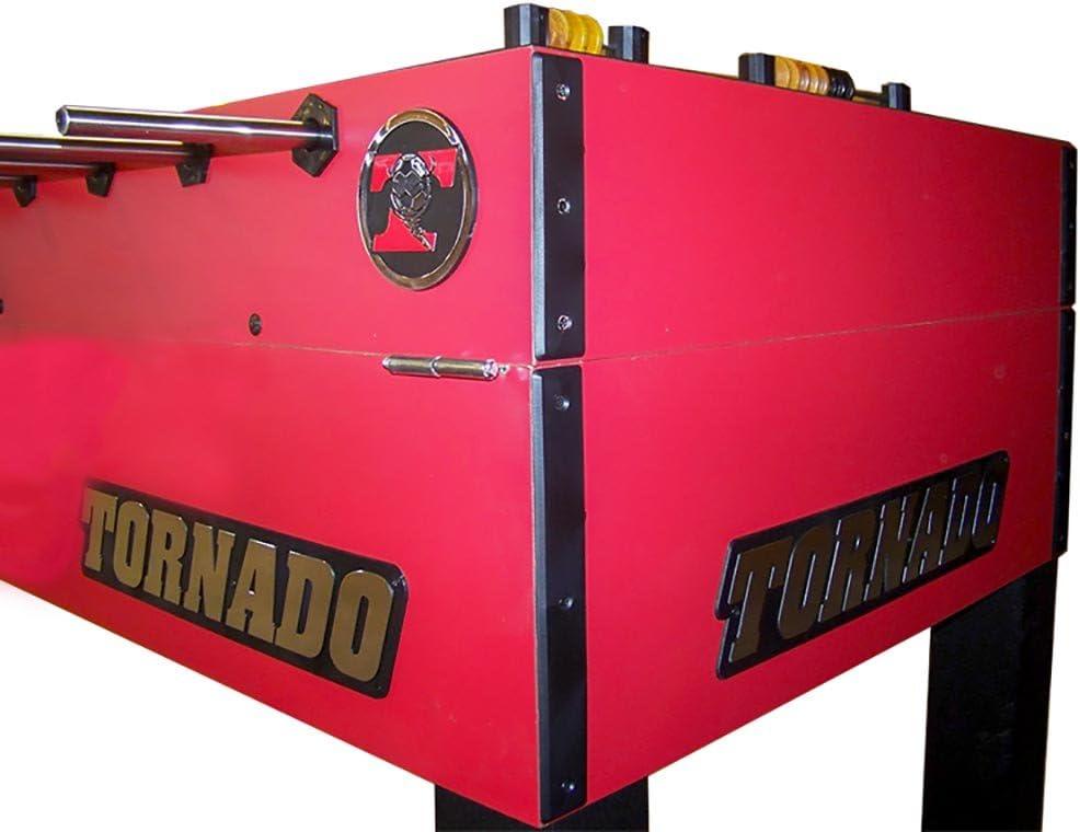 Tornado T-3000 futbolín mesa con 1-man portero, Rojo: Amazon.es ...