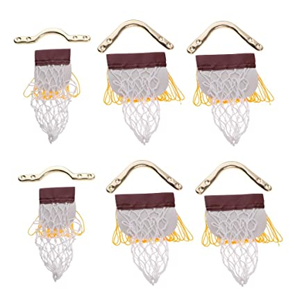 Amazon.com: KODORIA - Juego de 6 bolsas de red para mesa de ...