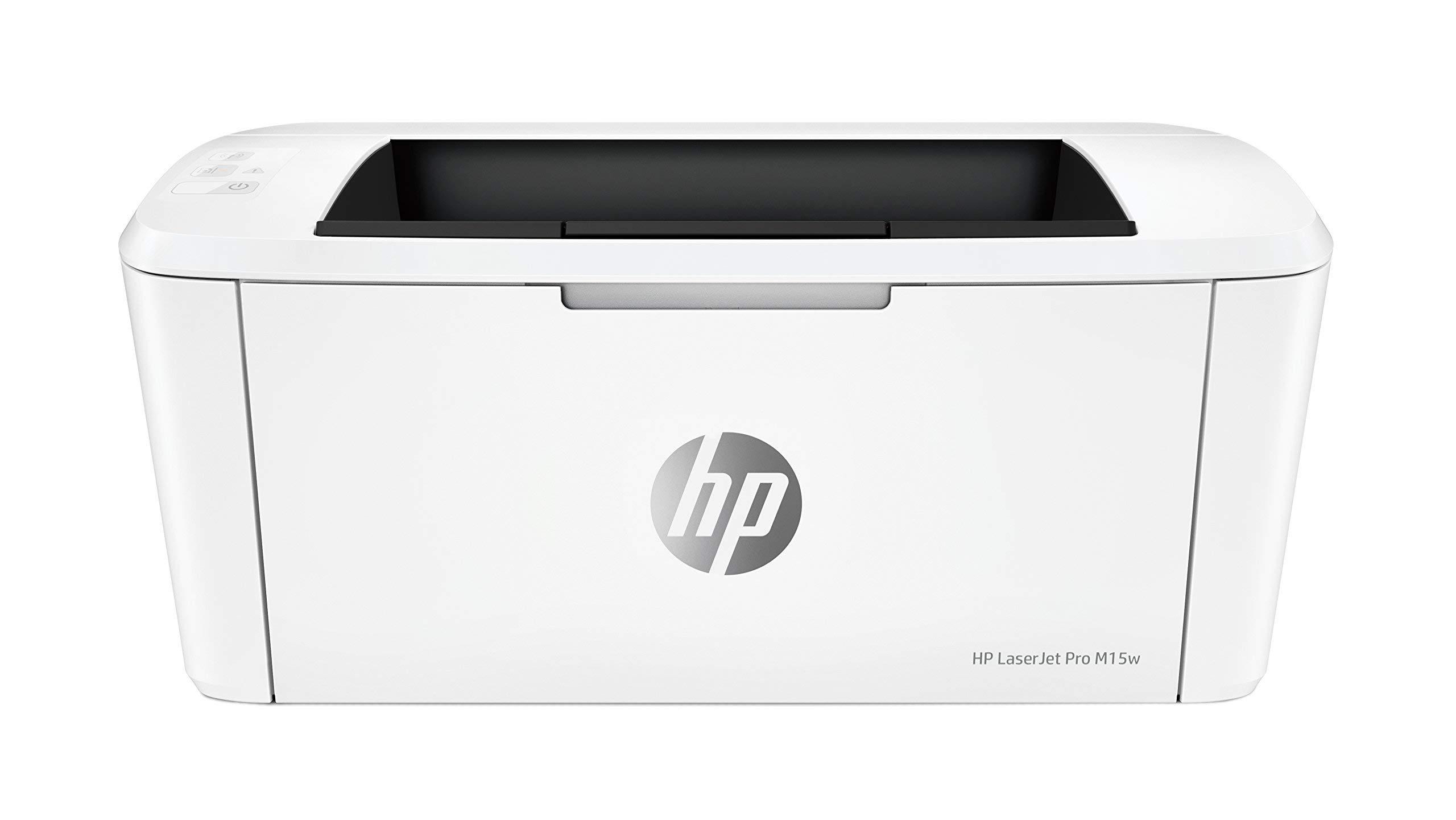 HP Laserjet Pro M15w Wireless Laser Printer (W2G51A) (Certified Refurbished)