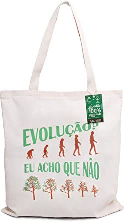 Ecobag 100% Algodão Reciclado Evolução