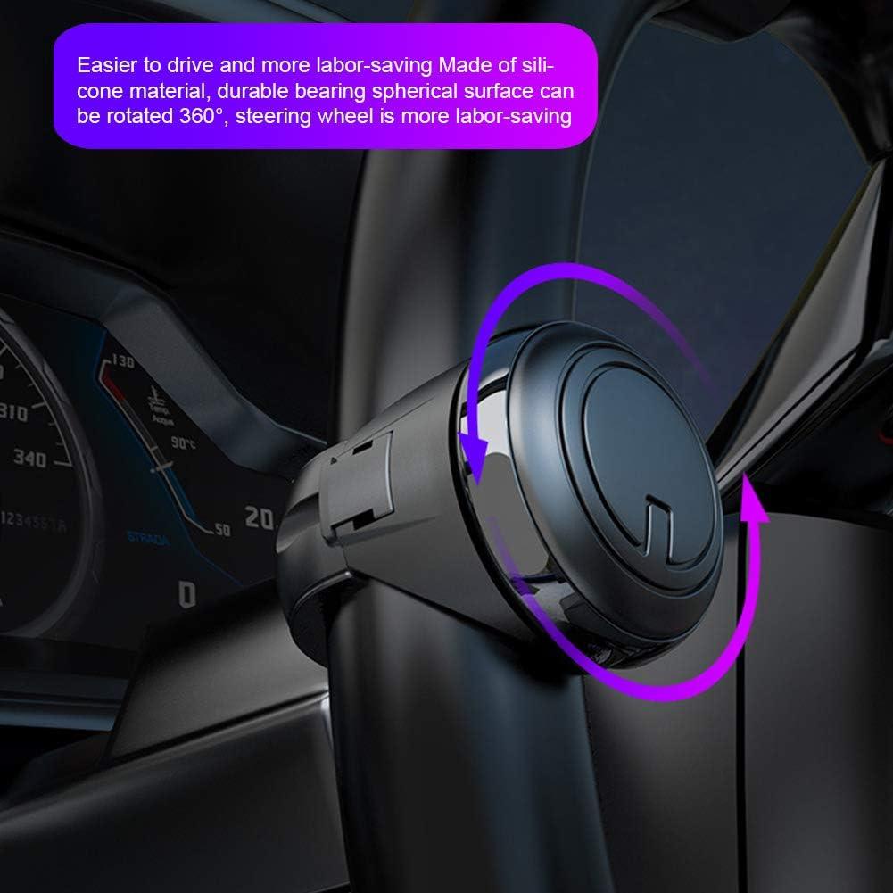 Voir image 50 x 22 x 63 mm Driving Helper Booster Pommeau de volant de voiture 1 pi/èce Pas de z/éro