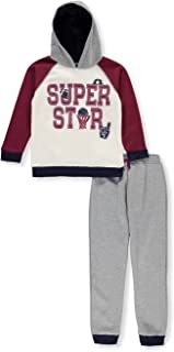 Little Rebels Boys' 2-Piece Sweatsuit Pants Set 2t