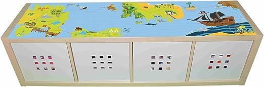 Pegatina para Muebles de habitación Infantil, diseño de Isla de ...
