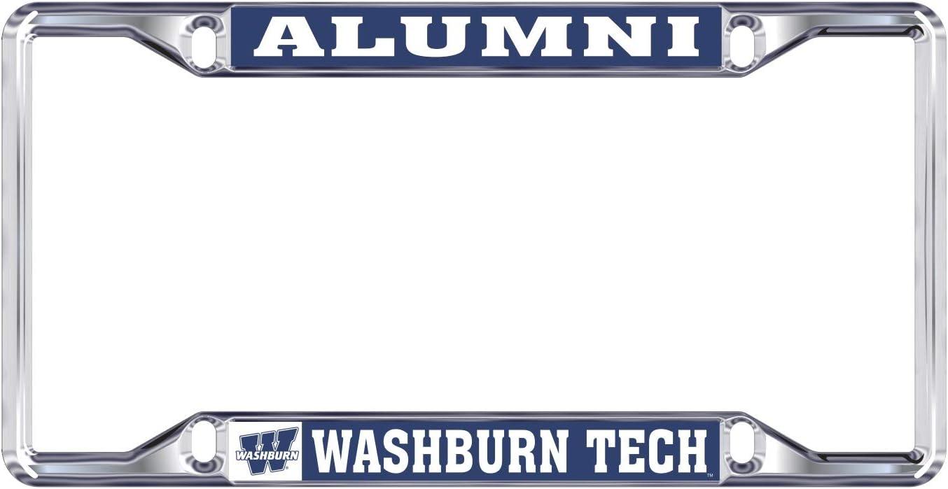 Alumni Desert Cactus Washburn University NCAA Metal License Plate Frame for Front Back of Car Officially Licensed
