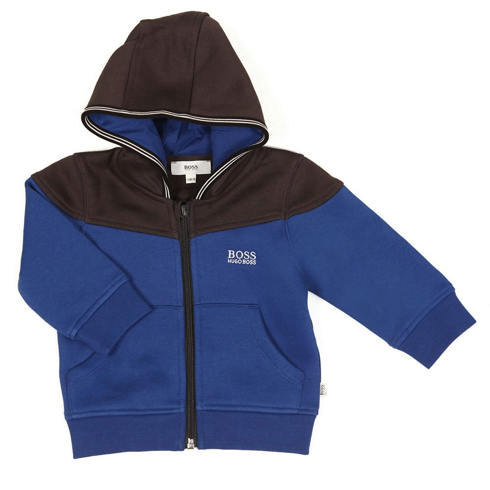 6e2d10041 BOSS - Baby J08025 Track Suit, Electric Blue: Amazon.co.uk: Clothing