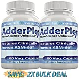 2 AdderPlex Best Organic Focus Energy Add Attention,...