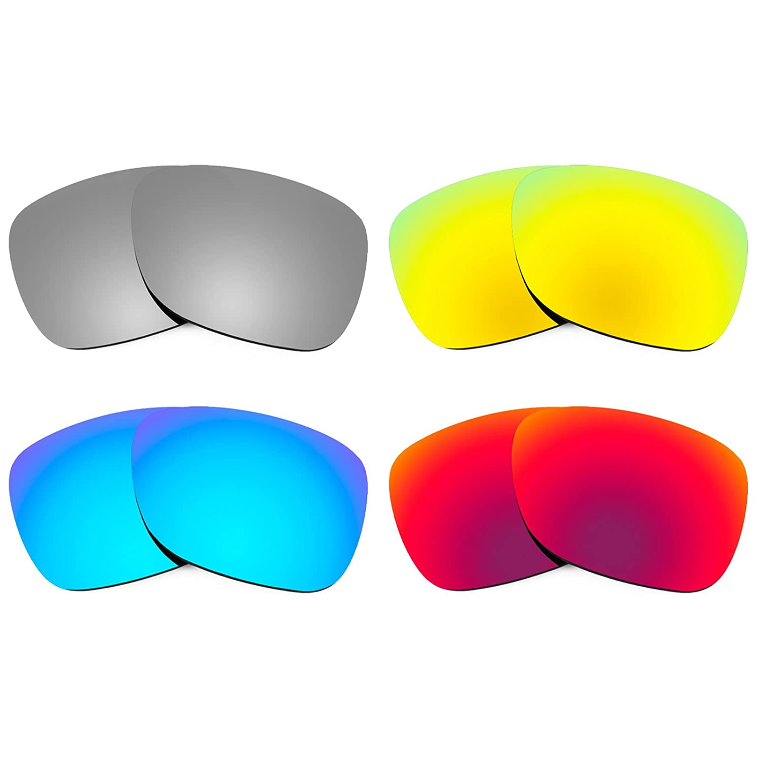 6b6d27c749 Revant Replacement Lenses for Ray Ban Justin 54mm RB4165 4 Pair Combo Pack  K020  Amazon.ca  Sports   Outdoors