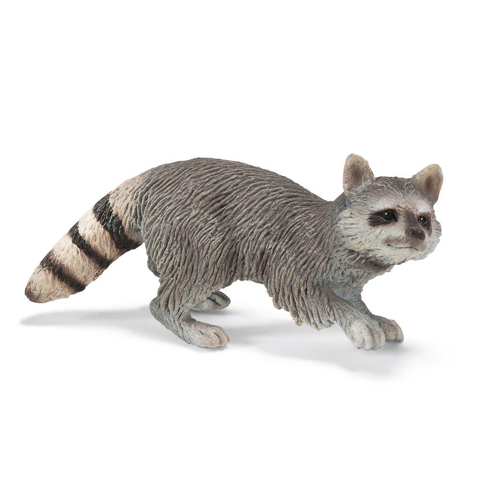 amazon com schleich raccoon toy figure toys u0026 games