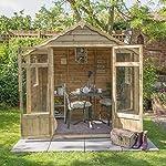 7 x 5 summerhouse pressure treated