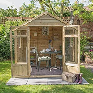 7 x 5 summerhouse pressure treated