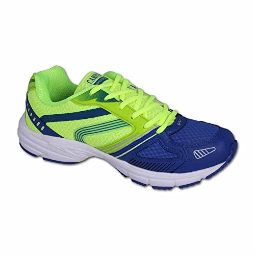 15f447f755 Action Campus 3G168A Royal Blue and Pista Green Colour Running Shoes ...