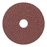 Mercer Industries 301024 24 Grit Aluminum Oxide Resin Fiber Discs (25 Pack), 4-1/2 x 7/8''