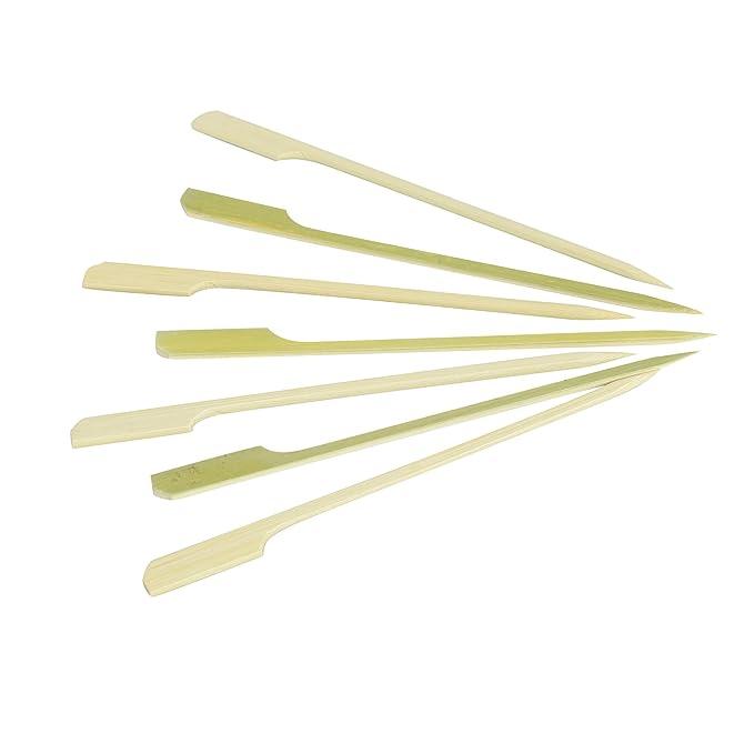 Delys-By-Vercal 507891 Lot de 100 Mini-Piques à Brochette en Bambou 15 cm
