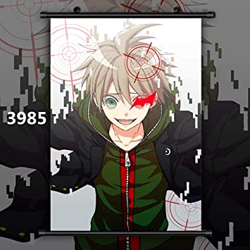 Danganronpa Anime Manga Art Deco Poster Wall Fabric Canvas 2567