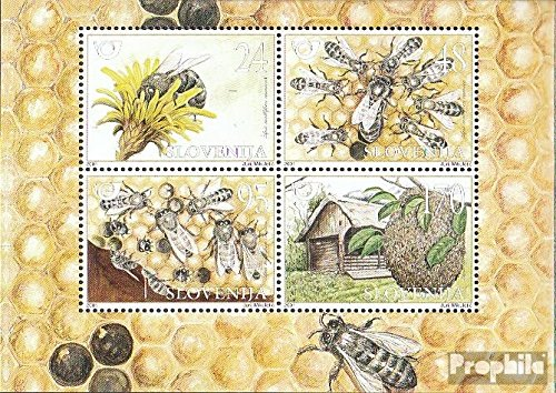 Slovenia block12 (Complete.Issue.) 2001 krainer Honey bee (Stamps for Collectors) Invertebrate Other