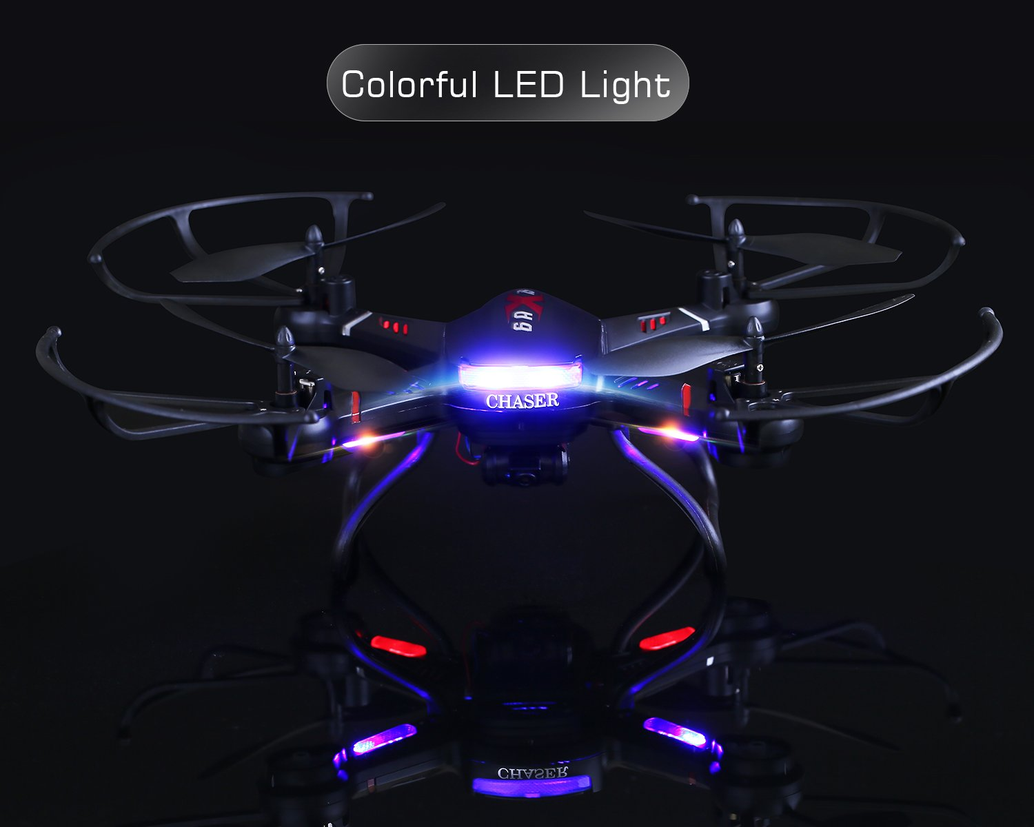 Holy Stone F181C RC Quadcopter Drone with HD Camera RTF 4 Channel 2.4GHz 6-Gyro with Altitude Hold Function,Headless Mode and One Key Return Home, Color Black by Holy Stone (Image #7)