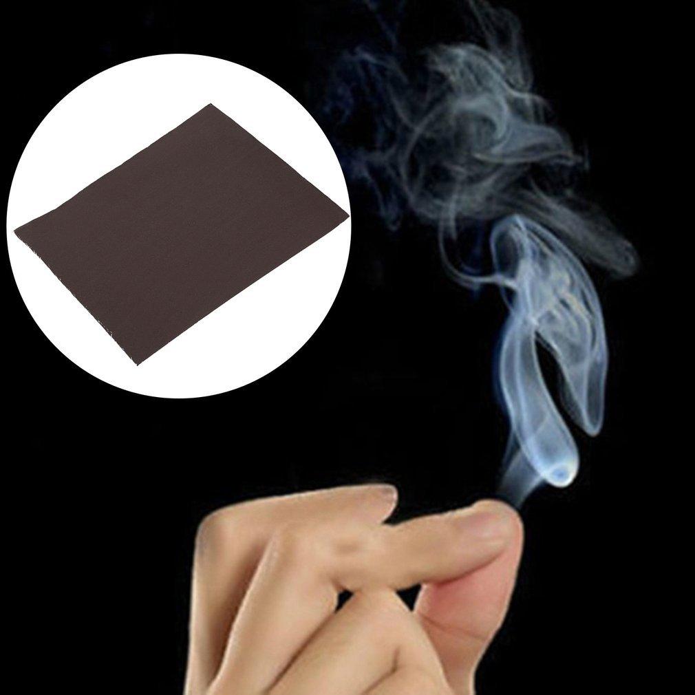 Leoboose10Pcs Lot Close-Up Trucos de Magia Apoyos Consejos de fantas/ía Dedo para los infiernos de Smoke Hell Accesorios de Truco Mago Truco Accesorios