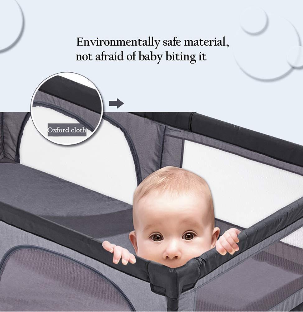gr/ö/ße : 120/×120cm Dongyd Kinder-Laufstall-Baby-Sicherheitszaun-Kleinkind-Spiel-Stift Gro/ße Waschbare Atmungsaktive